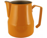 MOTTA MILK PITCHER MOD. EUROPA 50 CL STAINLESS STEEL, ORANGE – PROFESSIONAL
